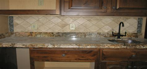 counter backsplash travertine backsplash installer chandler mesa