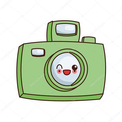 imagenes de iconos kawaii icono de c 225 mara fotogr 225 fica de kawaii vector de stock