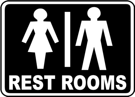 restrooms sign f4900 by safetysign com