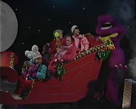 barney and the backyard gang christmas up on the housetop barney wiki fandom powered by wikia