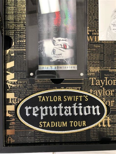 taylor swift reputation tour gift box unboxing taylor swift s reputation stadium tour vip gift box