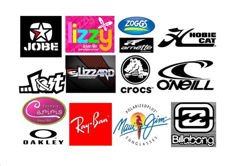 Brand Clothing An apparel logo names and symbols