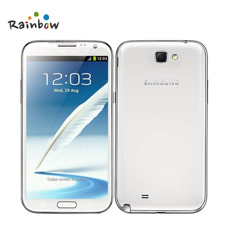 original samsung galaxy note 2 n7100 mobile phone quad