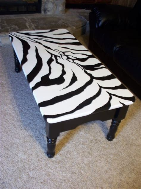 1000 images about end tables on zebra print