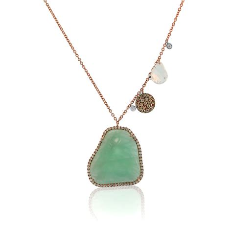 meira t 14k gold amazonite necklace