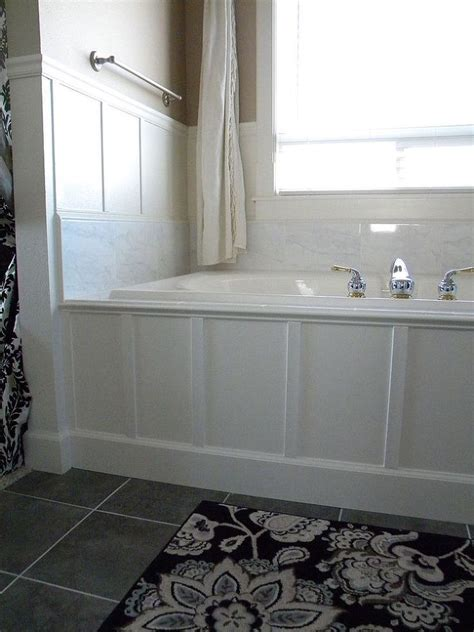 bloombety wainscoting in bathroom ideas with unique wood 52 best images about bathroom on pinterest vanities diy