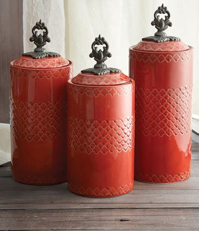 decorative kitchen canisters sets american atelier quatra canister set decor by color