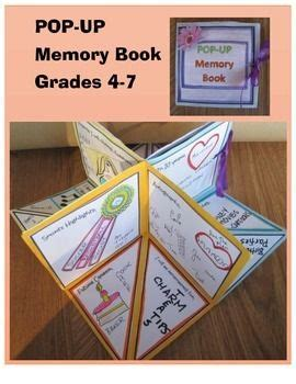 pop up book templates 17 best images about end of year activities on