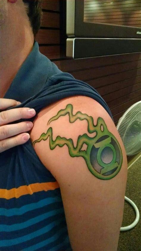 green lantern tattoos awesome nerdy green lantern tattoos
