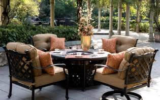 Costco Patio Furniture With Fire Pit by Patio Table With Fire Pit Costco Landscaping Gardening