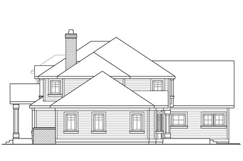 traditional house plans two story traditional house plans masonville 30 935 associated designs