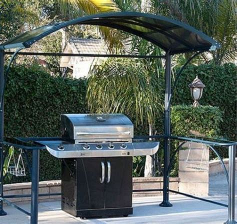 Outdoor Patio Grill Gazebo Barbecue Grill Cover Gazebo Kits Outdoor Patio Furniture Backyard Dec