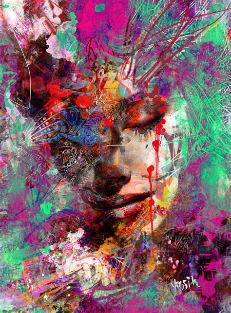 top artist saatchi mix of emotions painting by yossi kotler