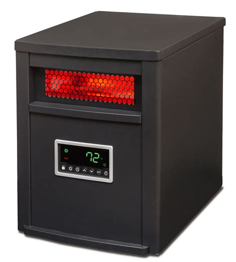 space heaters for large rooms 2 lifesmart 1500 watt large room 6 element infrared space heater ls 6dmiqh in ebay
