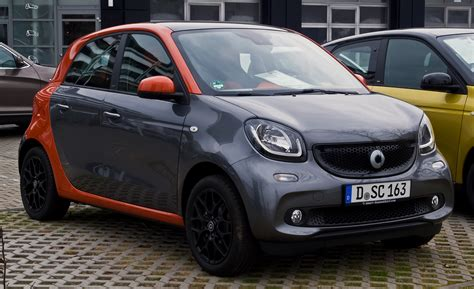 smart for file smart forfour 1 0 edition 1 w 453 frontansicht