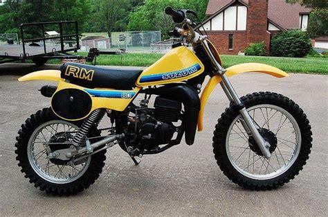 1980 Suzuki Rm80 1981 Rm 80 Classic Dirt Bikes Green Kid