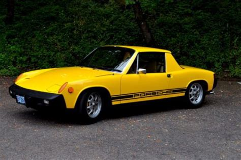 porsche 914 fuel injection purchase used 1975 porsche 914 2 0 fuel injection targa