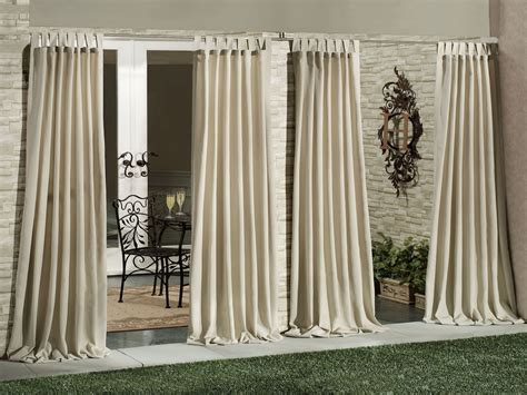outdoor waterproof curtains wall dining table outdoor patio curtain panels