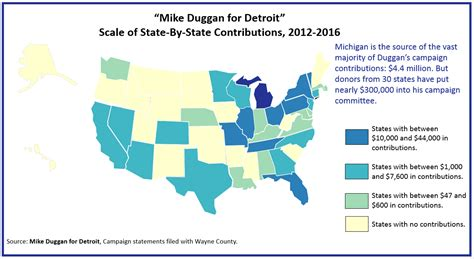 map of us states detroit detroit by the numbers national money for mike duggan
