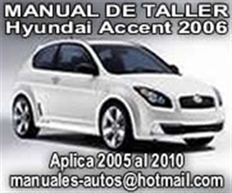manual repair autos 2006 hyundai accent on board diagnostic system 2006 hyundai accent owners manual