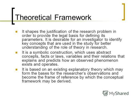 exles of theoretical framework in research paper quot how to write the thesis documents