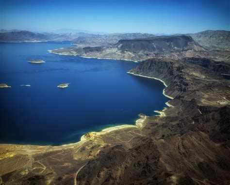 Lagie Mede free photo lake mead nevada aerial view free image on pixabay 404507