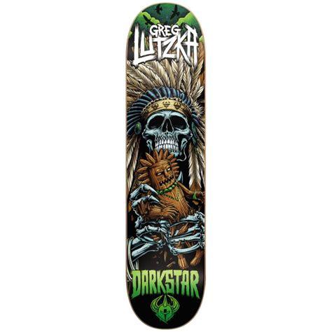 Darkstar Tech Decks darkstar deck voodoo greg lutzka 8 25 buy online