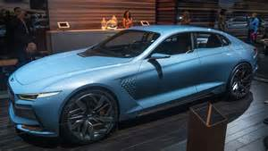 the new genesis car hyundai wows new york with genesis new york concept