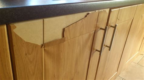 Kitchen Cabinet Cleaning by Laminate Coming Off Kitchen Doors Boards Ie