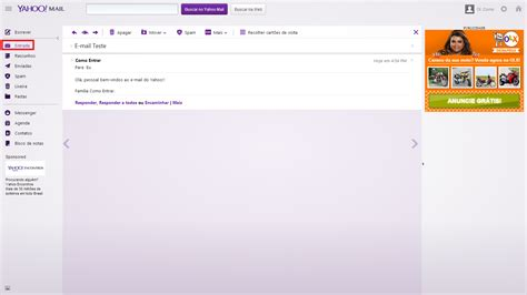 email yahoo entrar click para entrar como entrar no email do yahoo