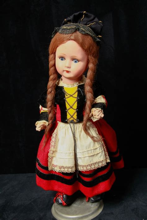 german composition doll lovely large 17 quot antique german composition gura doll