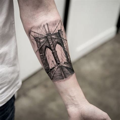 bridge tattoo 35 of the best architecture tattoos or how to your