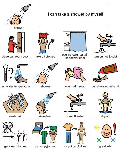 How To Take A Shower by Gail Social Stories When I Didn T Pictures Of Elayna Doing A Task I Would Use These