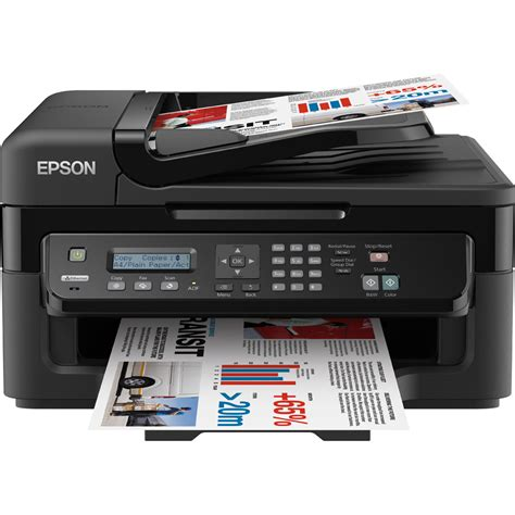 Printer Epson epson workforce wf 2520nf a4 colour multifunction inkjet printer c11cc38301