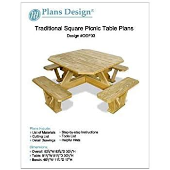 picnic table  benches plans