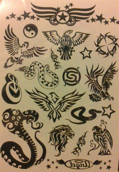 imagenes para tatuajes temporales tatuajes temporales