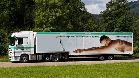 Truck Shower by Mobile Shower For Events Hansgrohe Shower Truck