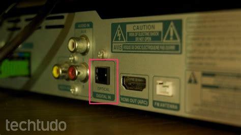 entrada optica tv smart tv lg como conectar home theater ou soundbar por
