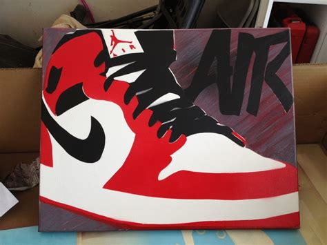 spray paint jordans diy i spray paint stencil 20 quot x16 quot kicks