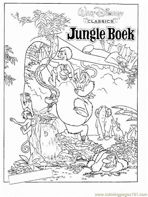jungle book coloring pages pdf coloring pages free printable coloring page jungle book