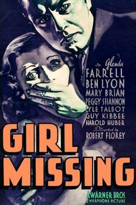 Themes In Girl Missing | girl missing 1933 robert florey synopsis