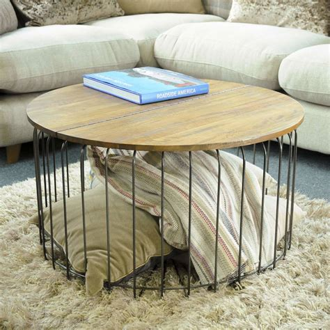 cage end table birdcage storage coffee table by the orchard