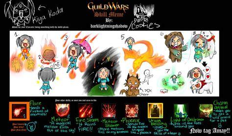 Guild Wars 2 Meme - guild wars skill meme by kiyakoda on deviantart