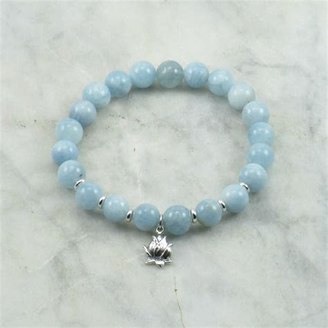 bead braclets mala bead bracelet 21 aquamarine mala