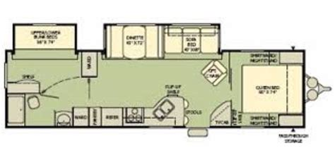 Fleetwood Travel Trailer Floor Plans by Fleetwood Prowler Travel Trailer Floor Plans 2007