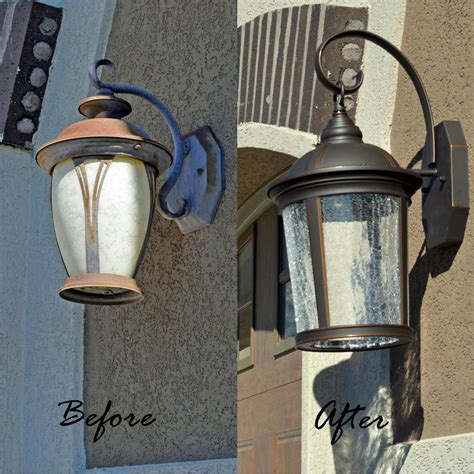 How To Replace A Light Fixture Outdoor Tutorial Her How To Replace Light Fixture