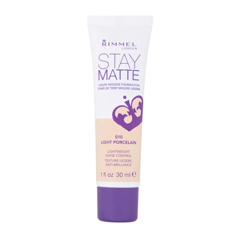 Rimmel Stay Matte Foundation rimmel stay matte foundation light porcelain www imgkid