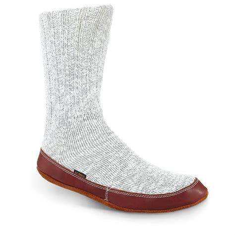 acorn unisex slipper sock acorn unisex cotton slipper socks 667132 slippers at