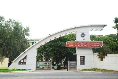 Mba In Coimbatore Institute Of Technology by Coimbatore Institute Of Technology