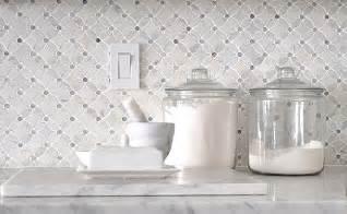 marble mosaic tile backsplash backsplash com